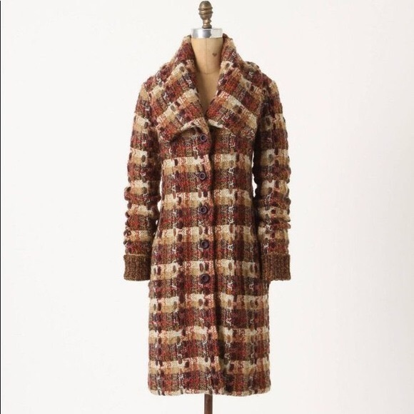 Anthropologie Jackets & Blazers - Anthropologie Charlie robin marled sweater coat